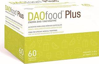 DAOfood Plus - Dietetyczne Postępowanie w Przypadku Niedoboru DAO - 60 EFICAPS Kapsułki z Tabletkami Dojelitowymi - Enzym ...