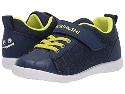 Tsukihoshi Kids Kai (Toddler/Little Kid) (Navy/Lime) Boy