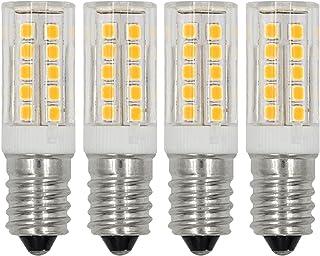 E12 LED Light Bulbs C7 Bulb 5W Daylight White 6000K 110V 120V Candelabra Bulb E12 Base