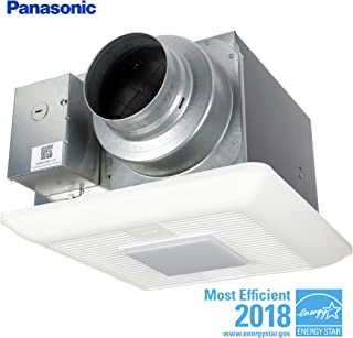 Panasonic FV-0511VKL2 WhisperGreen Multi-Flow Bathroom Fan, White