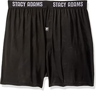 Stacy Adams Mens SA1000BT Men's Boxer Short, Big Sizes Boxer Shorts