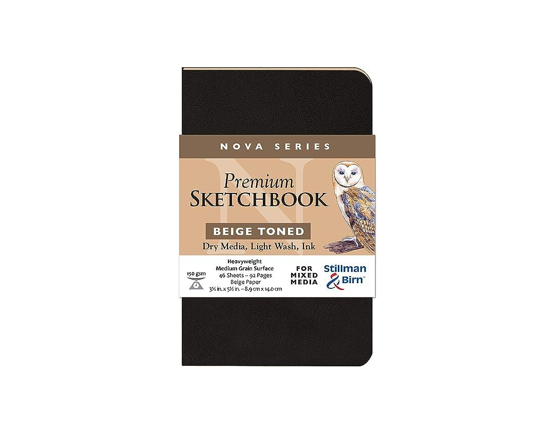 Stillman & Birn Nova Series Beige Softcover Sketchbook, 3.5