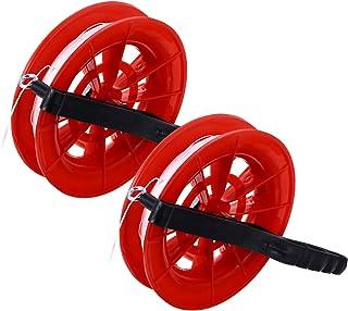 BESPORTBLE, 2 peças, enrolador de linha de pipa com rotação suave Omnibearing com trava de catraca profissional para adult...