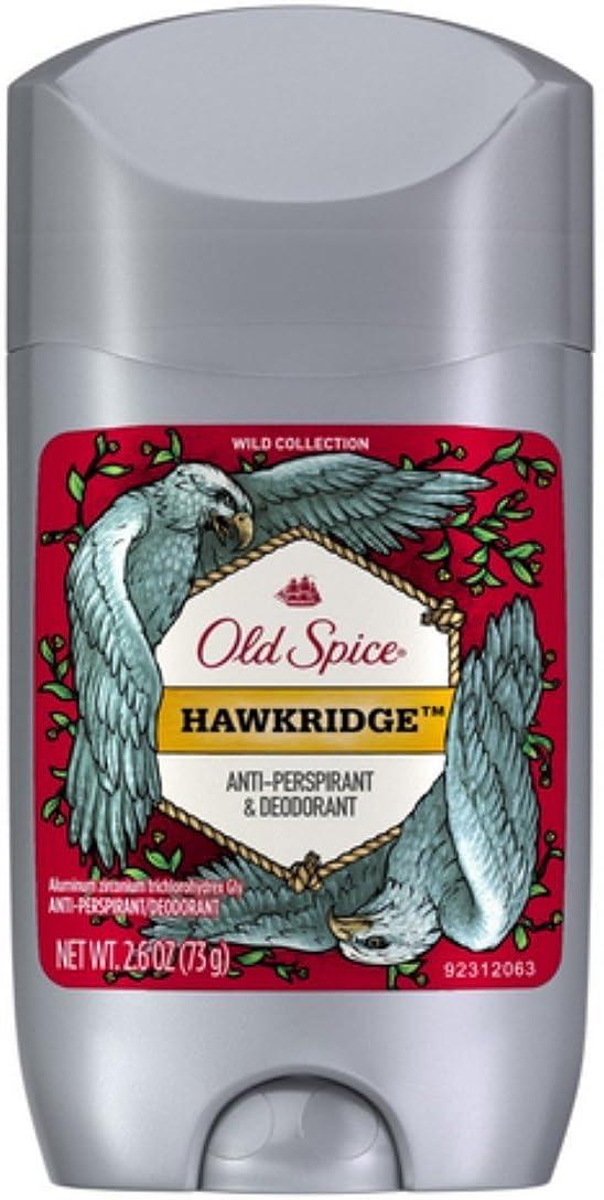 散歩寄生虫茎オールドスパイス ホークリッジ【バニラ】人気デオドラント Old Spice Invisible Solid Hawkridge 73g[並行輸入品]