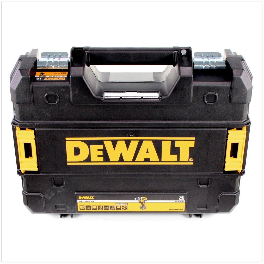 DeWalt DCD 791 P1 18 V Taladro atornillador (Brushless en Tstak de caja con 1 x DCB 184 5,0 Ah Batería + DCB 105 Cargador: Amazon.es: Bricolaje y herramientas