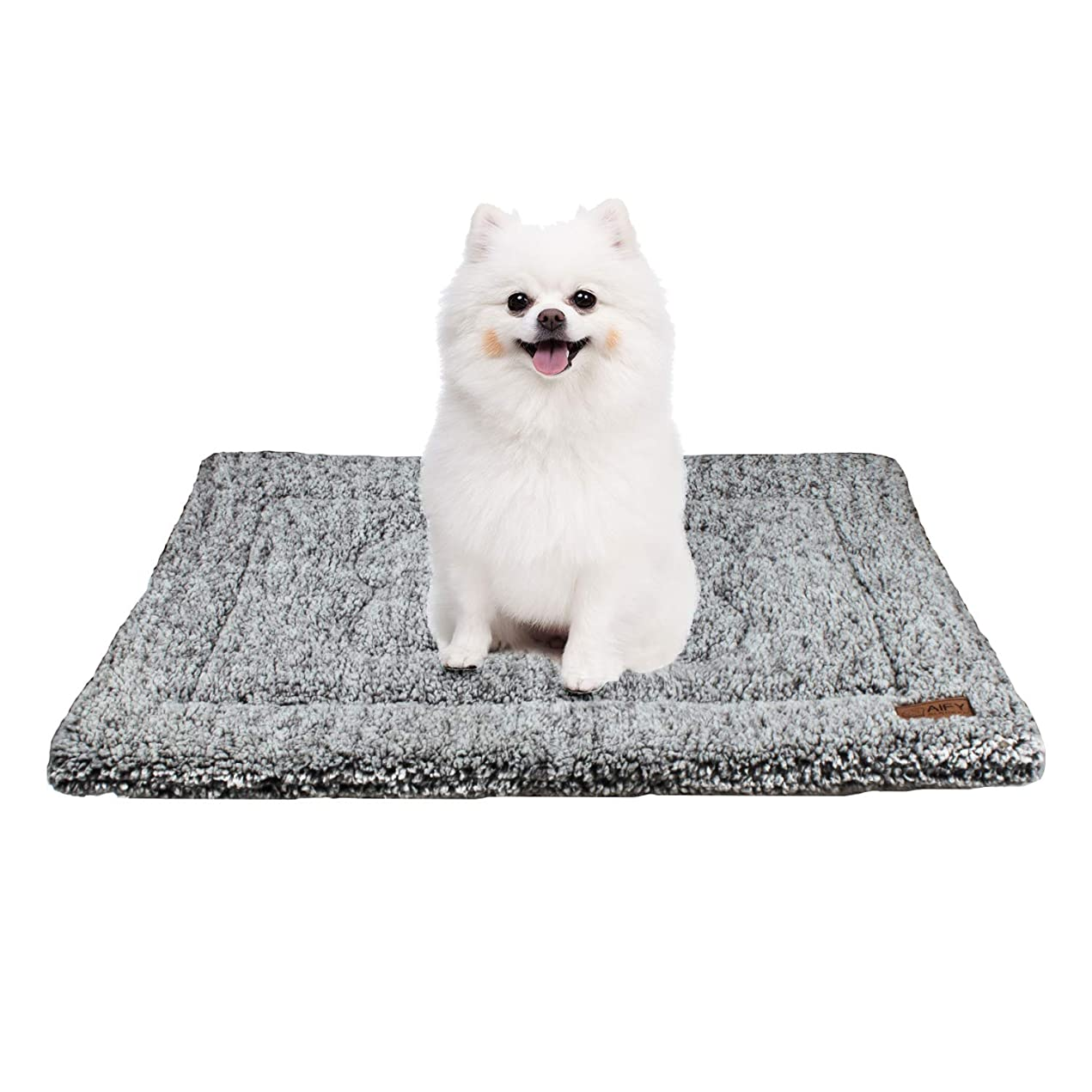 九時四十五分ベッツィトロットウッドアミューズメントAIFY ペットクッション 猫 犬 クッション ペット用 ベッド マット ボア生地 中型犬 猫用 犬クッションベッド おしゃれ 洗える かわいい ふわふわ ふかふか 通年 (M)