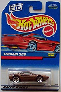 Hot Wheels 1998 Ferrari 308 Collector #816 [Metallic Brown] by Hot Wheels