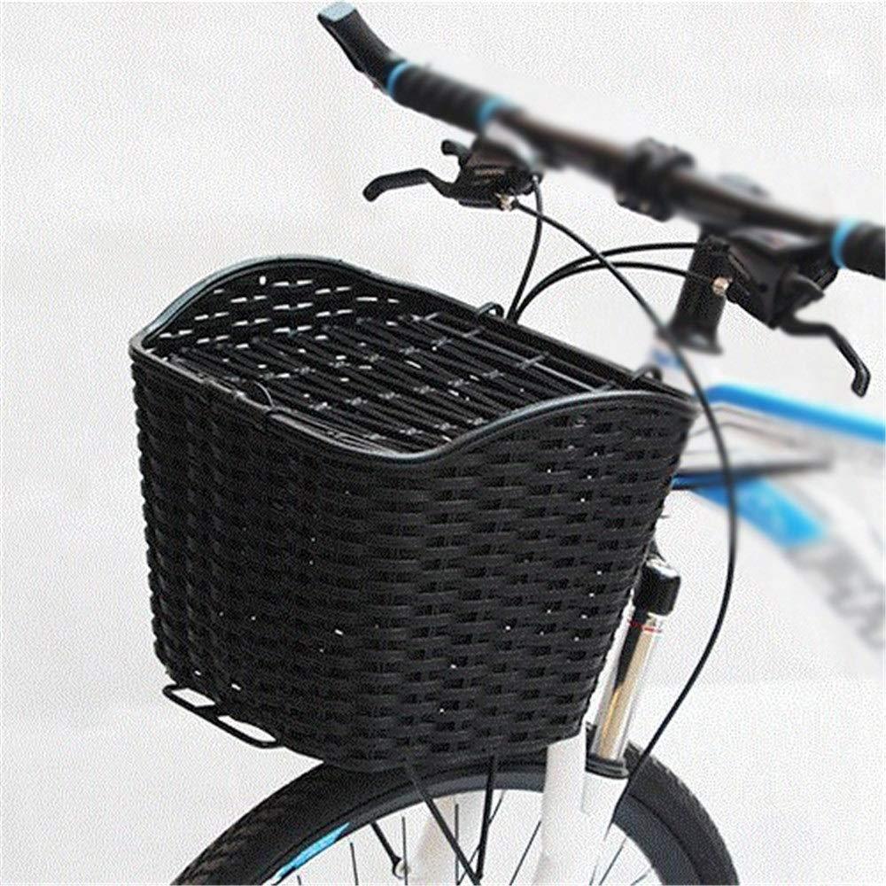 Cesta de bicicleta Cesta plástica for bicicleta con ganchos Cesta ...