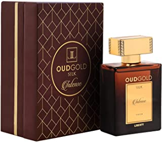Liberty EXCLUSIVE Luxury Oud Gold (100ml / 3.4 Oz) Limited Edition Silk Intense Best Pure Parfum for Men and Women Original Long Lasting Smell Upto 3 Days - Woody Notes Perfume