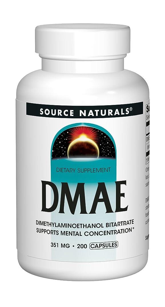 コミットジャズ建物海外直送品Source Naturals Dmae Capsules, 200 Caps
