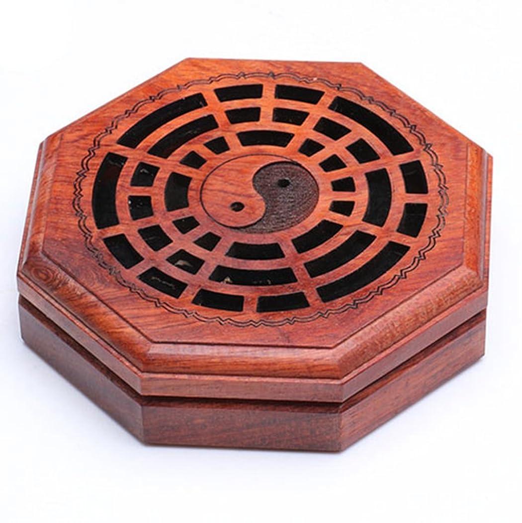 前無一文ラテン(ラシューバー) Lasuiveur 香炉 線香立て 香立て 職人さんの手作り 茶道用品 おしゃれ  木製 透かし彫り