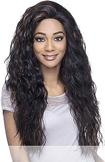 Vivica A Fox Hair Collection Brooklyn Deep Swiss Lace Front Handmade Wig, FS1B/30, 12.9 Ounce