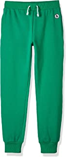 Kid Nation Kids Unisex Soft Brushed Fleece Casual Pull On Jogger Sweatpants with Pockets for Boys or Girls