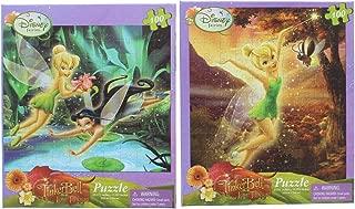 2 Pk. Disney Fairies Tinkerbell 100-Piece Jigsaw Puzzle (200 Pieces Total)