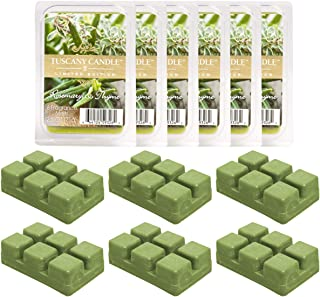 Tuscany (6 Pack) Air Freshener Candle Warmer Wax Melts Wax Cubes for Tea Lights Candles Wax Warmer