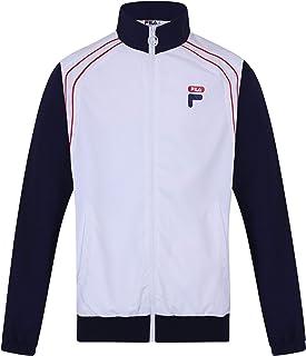 Fila Men's Vaughn Piped Track Jacket, White