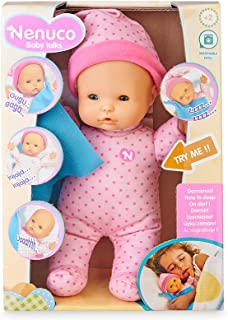 Nenuco Doll Baby Talks Time To Sleep Battery Operated, 700016280