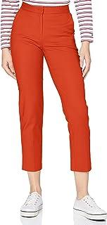 Tommy Hilfiger Slim Slub Cotton Ankle Pant Pantalons Femme