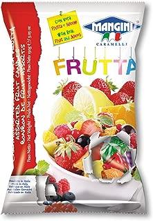 Mangini, Italian Fruit Jam Filled Candy (Frutta) 150g Bag (5 pcs)