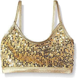 Gia-Mia Dance Girls' Sequin Bra Top