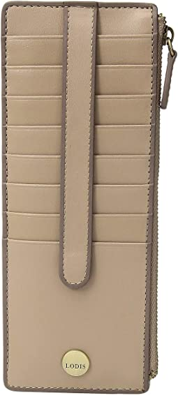 Rodeo RFID Credit Card Case with Zipper Pocket