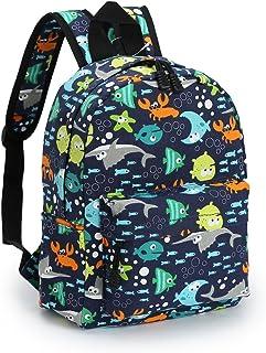Zicac Childrens' Cute Canvas School Backpacks Mini Rucksack School Bag, Blue (Blue) - 4335161498