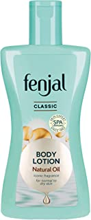 FENJAL Classic Luxury Hydrating Body Lotion - 200ml  Long Lasting Moisturisation and Hydration