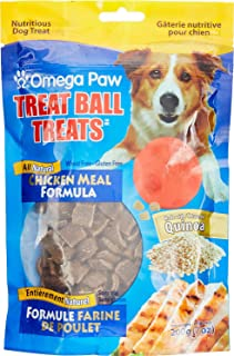 Omega Paw Treat Ball Treats, Chicken