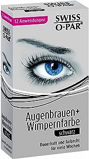 Swiss-O-Par Eyebrow and Eyelash Colour Black