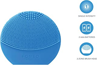 FOREO Luna Play Plus Portable Facial Cleansing Brush, Aquamarine, 88g