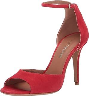 Emporio Armani Women's Suede Ankle Strap