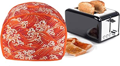 2 Slice Toaster Appliance Cover,Universal Size Microwave Toaster Oven Cover,Dust and Fingerprint Protection Bread Machine ...