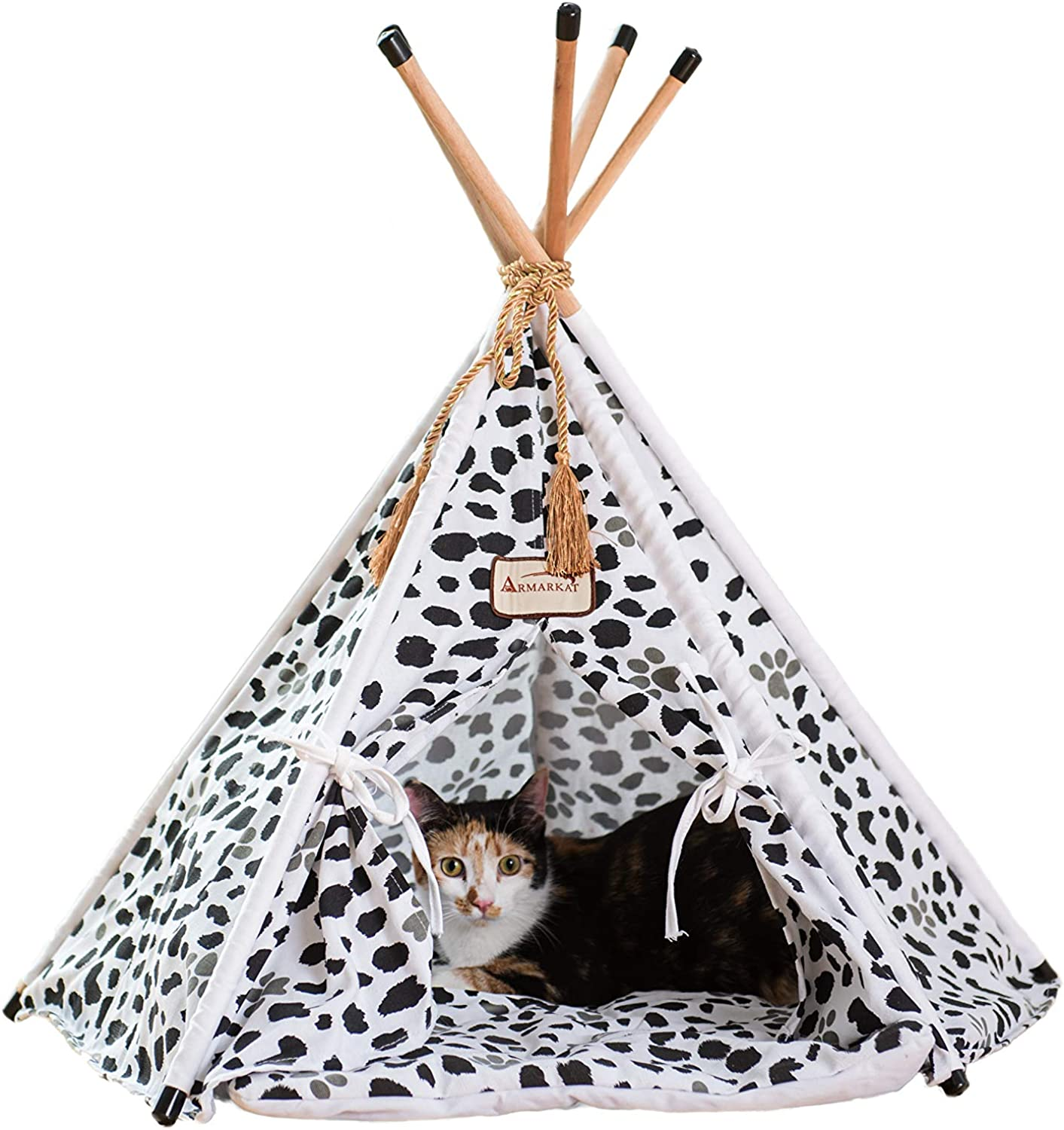Armarkat Teepee Style Model C46 Cat Bed