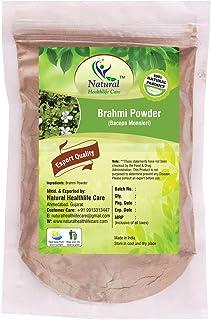 Natural Healthlife Care Brahmi Powder Bacopa Monnieri 100% Natura & Chemical Free Hair Cleanser For Healthy Hair (100 gm (0.22 lb) 3.5 ounces)