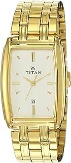 Titan Regalia Analog White Dial Men's Watch -NM1163YM01 / NL1163YM01