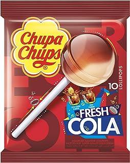 Chupa chups Fresh Colamix Lollipop Bag, 10 Pieces