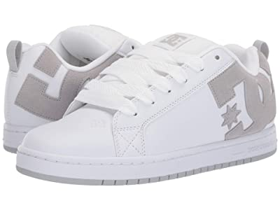 DC Court Graffik (White/Grey/Grey) Men
