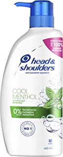 Head Shoulders Cool Anti Dandruff Shampoo With Menthol Extract For Irritated Scalp 660ml (Pack of 1)