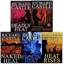 Richard Castle 5 Books Collection Set (Deadly Heat, Frozen Heat, Heat Rises, Naked Heat and Heat Wave)
