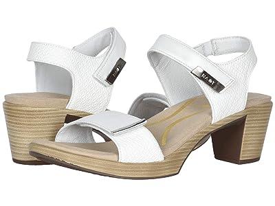 Naot Intact (White Pearl Leather/White Diamond Leather/Silver Mirror Leather) Women