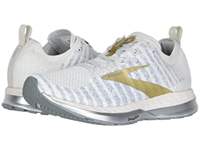 Brooks Bedlam 2 (White/Grey/Gold) Women