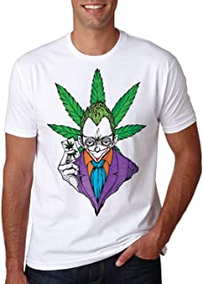 Chill T-Shirt Joker Ganja Weed Smoke Batman Rest Day 20