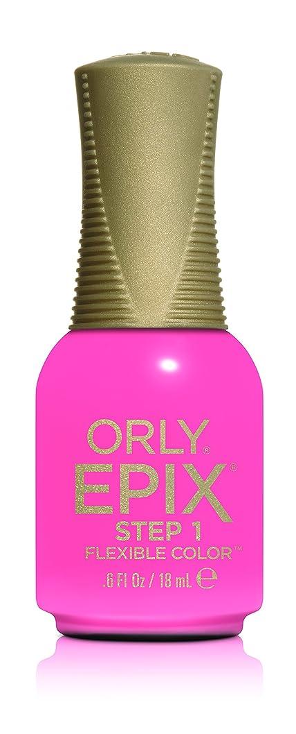 消化科学者涙Orly Epix Flexible Color Lacquer - Bonjour LA - 0.6oz / 18ml