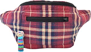 Stylish Scottish Tartan Fanny Pack with Hidden Pocket Handmade (Tony Flannel)