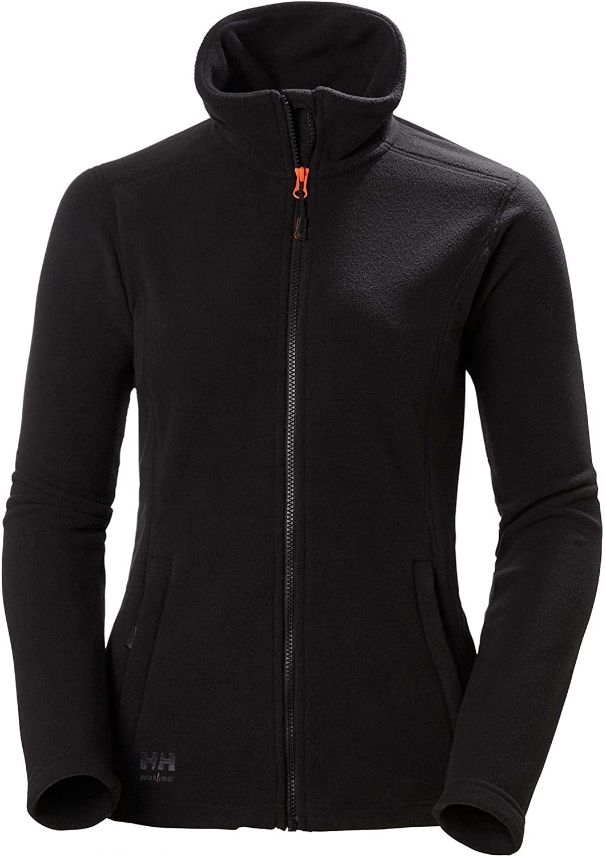 Helly-Hansen Mens W Luna Fleece Jacket - Black, 2XL