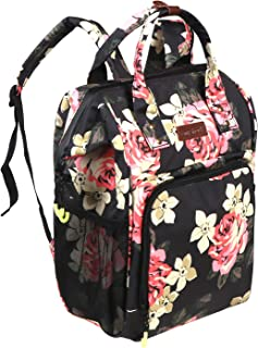 Anyshock Cooler Backpack 16 Cans Lightweight Insulated Backpack Cooler Leak-Proof Soft Cooler Bag Large Capacity for Men Women to Picnics, Camping, Hiking, Beach, Park or Day Trips (Peony)