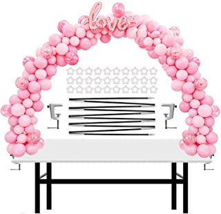 IDAODAN Table Balloon Arch Kit Adjustable for Baby Shower, Birthday, Wedding, Festival, Graduation Decorations Party Suppl...