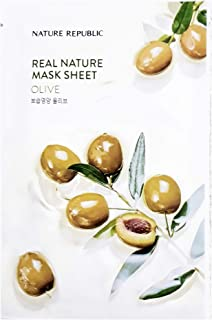 Nature Republic Real Nature Mask Sheet OLIVE 10pc SET Daily Mask Korea
