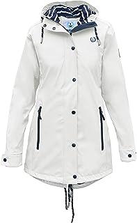 MADSea 'Friesennerz' Impermeable Chaqueta Lluvia Mujer Blanco