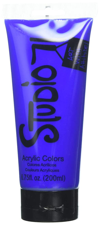 Studio 71 1172 Ultramarine 200ml Acrylic Paint, Multicolor